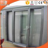 Doorwin Thermal Break Aluminum Sliding Doors with Double Glazing