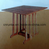 Factory Supply Competitive Price Wooden Quadrate Table