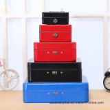 High Quality Cash Box Key Lock Box Metal Cash Box