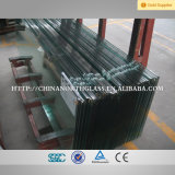 10mm Ultra Clear Float Tempered Glass for Building Curtain Wall