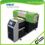 High Speed A2 Two Head Plastic UV Flatbed Printer