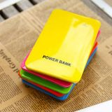 8000mAh Dual USB Ultrathin Colorful Mobile Phone Charger (D-08)