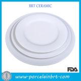 Basic White Hotel Used Dinner Plates
