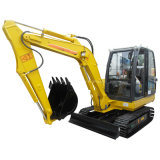 China Best 4tons Mini Excavator with Japan Yanmar Engine CE Certificate Similar Bobcat