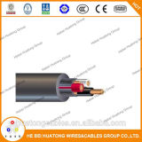 UL509 3 Core 14AWG  with 3 Ground Wires Power Cable and Portable Cord Bus Drop Cable