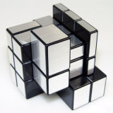 Stress Reliever Gold Silvery 3 Three-Layer Mirror Magic Cubes