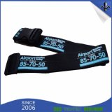 Manufacturer Fashion Custom Polyester Luggage Strap with Plastic Buckle