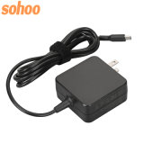 45W Mini Wall-Mount Type-C Charger Adapter for Lenovo DELL Asus Acer