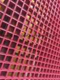 Fiberglass Pink Molded Gratings, FRP/GRP Gratings with Red/Pink Color.