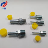 15611 Fitting Carbon Steel NPT Male Hydraulic Hose Fitting NPT Adapter NPT Threaded Coupling