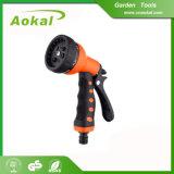 Car Wash Cleaning Watering Gun 8 Function Metal Spray Gun