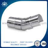 Glass Balustrade Flange U Aluminum Pipe End Fittings