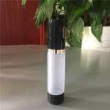15ml 30ml 50ml Frosted Black Cosmetic Airless Pump Bottle for Essential Oil