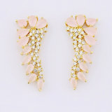 China Wholesale Crystal in Pink Stud Earring Charm Jewellery