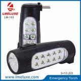 Portable 13 LED Rechargeable Emergency Flashlight