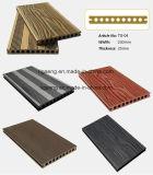 Salt Water Resist WPC Wood Splinter-Free WPC Decking Panel