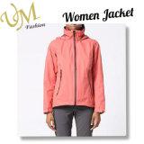 Pink Softshell Windbreak Outdoor Jacket for Women