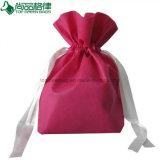 Custom Promotion Cheap Drawstring Non Woven Gift Bag Carrier Holder