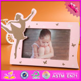 2016 Wholesale Wooden Girl Photo Frame, Lovely Wooden Girl Photo Frame, Fashion Wooden Girl Photo Frame W09A045