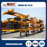 3 Axle 60 Ton Skeleton Chassis Container Semi Trailer
