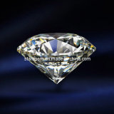 Round Brilliant Cut Cubic Zirconia Gemstone Beads Jewelry