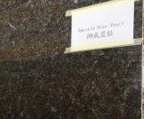 Wholesale Lundhs Ocean Blue Granite Polished Stone Tile