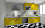 UV Kitchen Cabinet Natural Wood Looking Surface (zs-420)