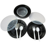 Plastic Food Tableware (bowl, fork, spoon, soup pot)