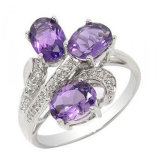 Sterling Silver Jewelry Ring (55#)