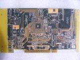 105um 1.6mm Yelow Soldermask 4L PCB
