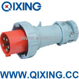 IEC 309 63A 5p Red Three Phase Industrial Power Plug