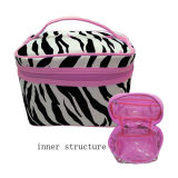 Fashion Cosmetic Makeup Toiletry Bag and Case for Lady