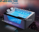 2016 Foshan Ningjie Sanitary Ware Acrylic Massage Bathtub (3020)