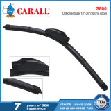 Soft Beam Wiper Blade with Graphite Coated