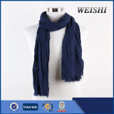 Fashion Plain Color 15%Wool 85%Visco Men Scarf