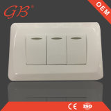 Hot Sale South American 3 Gang Electrical Wall Switch Socket
