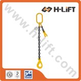 G80 Single Leg Alloy Steel Chain Sling / Chain Lifting Sling