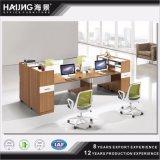 Modern Unique Design Office Workstation, Four Seater Office Workstation