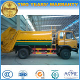 155 Kw 6 Wheels 12 Tons Refuse Collect Truck 12 T Garbage Compactor Truck for Export