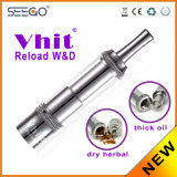 Vhit Reload W&D Dry Herb Atomizers with Glass Globe