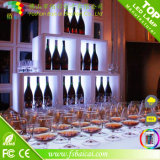 Bacai Factory Hot Sale LED Cube Shelf Nightclube Wholesale Wine Rack