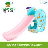 2017 Dolphin Style Kids Indoor Plastic Slide for Home (HBS17023A)