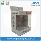 Hardcover Rigid Corrugated Packaging Clear Window Shows Dolls Paper Box Gift