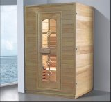 1000mm Square Spruce Wood Sauna for Single Persons (AT-8612)