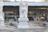 White Carrara Stone Sculpture Marble Memorial (SY-M001)