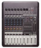 6-Channel High-Quality Analog with Amplifier Audio Mixer (GTP-650)