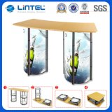 Aluminum Rotating Promotional Showcase Table