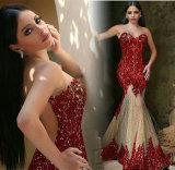 Abendkleider Black Evening Dress Beaded Mermaid Prom Dresses E1789