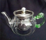 Eco-Friendly Glass Teapot with Infuser