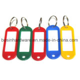 Plastic ID Label Multi Color Key Tag